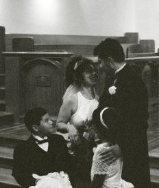 Becky and Aaron's wedding