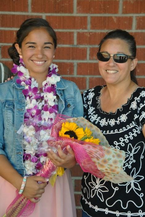 Ari, Lupe 8th grade graudation