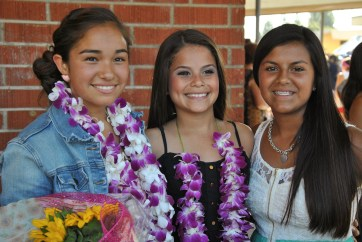 Ari & her buds from 8th grade