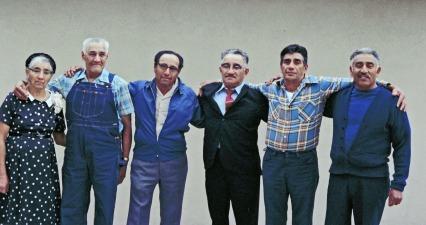 Mom, Teofilo, Bartolo, Fidel, Beto, Gabriel