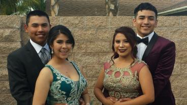 Esai from his prom