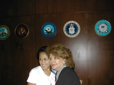 Linda joining Air Force with Esther