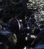 cousins on camping trip