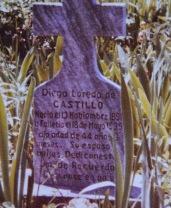 Abuela Diega's burial site, Asa, TX
