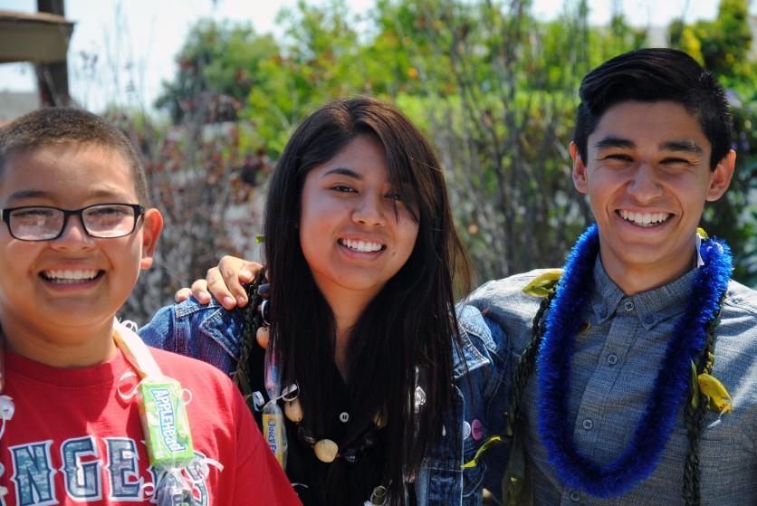 Jacob, Christina & Carlos, 2014 grads