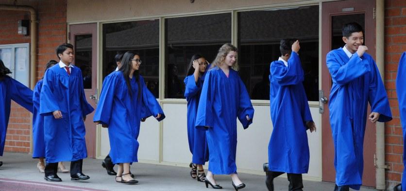 Miranda, Teresa, 8th grade graduation, St. Pius