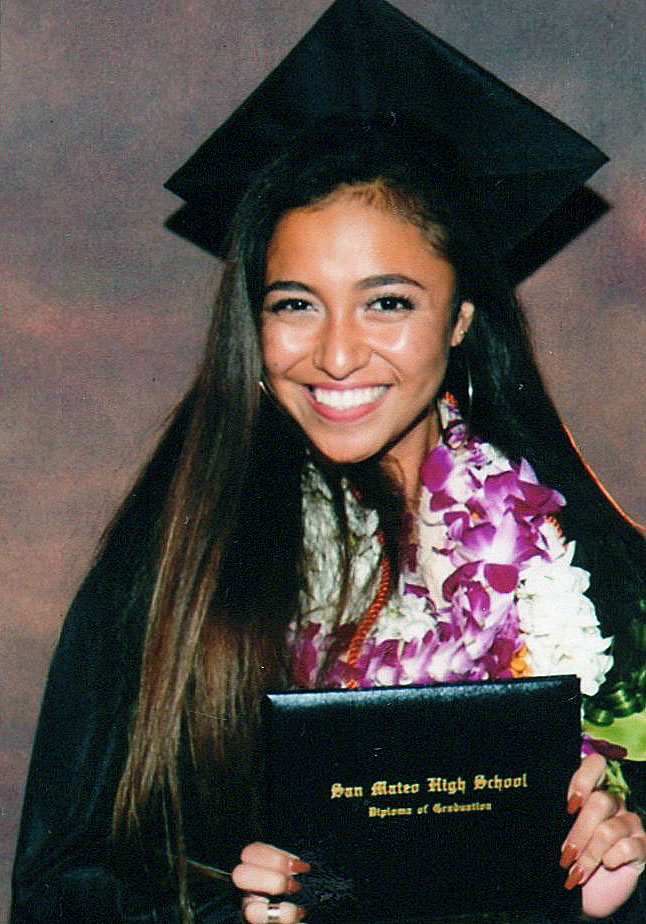 Nayelli, 2017, high school graduation, San Bruno