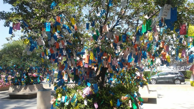 Tree of Hope with wishes of hope