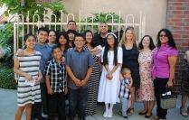 Miranda's communion at St. Pius