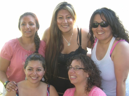 Cissy, Nene, Sonia, Victoria, Becky