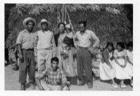 027 Tio Beto, front, Tio Gabriel, Abuelito, Mom, Tio Bartolo, El Rincon