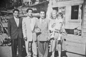 Roland Castillo, Tio Gabriel, Tio Fidel, Tia Betty