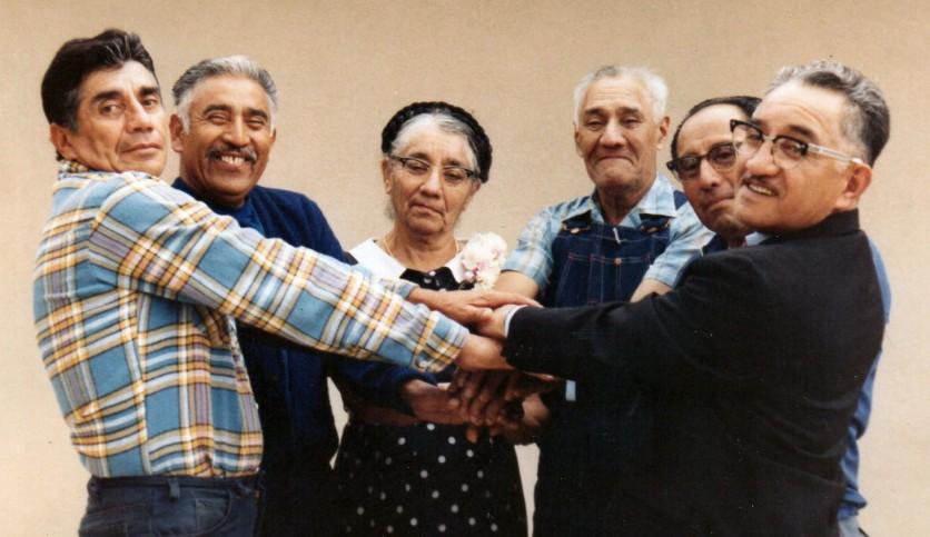 Beto, Gabriel, Mom, Teofilo, Bartolo, Fidel