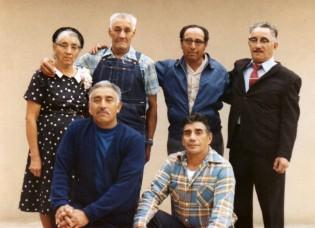 BACK: Mom, Teofilo, Bartolo, Fidel. Gabriel, Beto