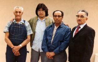 Teofilo, Pancho, Bartolo, Fidel
