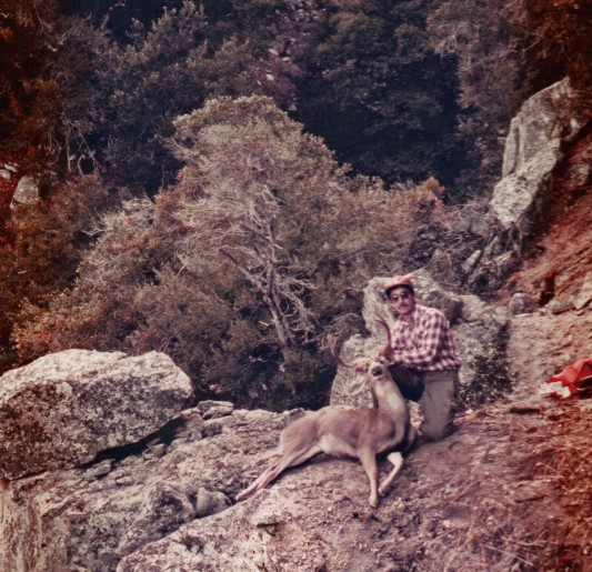 44.Mill Creek Buck, Angeles Forest 1985