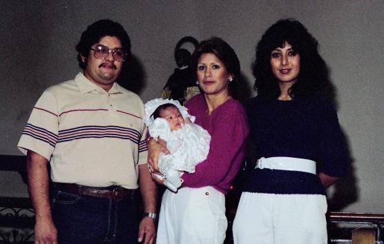 Nene's baptism at Wilmington, Jarv and Debbie are Nino and Nina