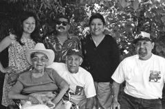 Tia Juanita, Tio Gabriel and family