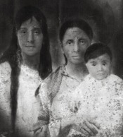 Mom, Abuela Diega and one of the children
