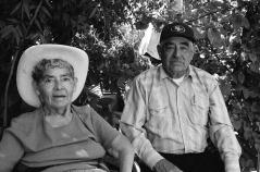 Tia Juanita and her brother