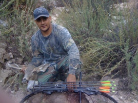 Tacho with arrowed deer, Lake, Altadena