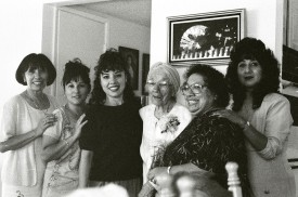 Just the girls. Licha, Lupe, Becky, Beany, Carol