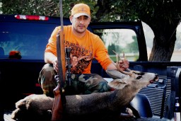 Tacho with another buck from Williams Canyon, Glendora