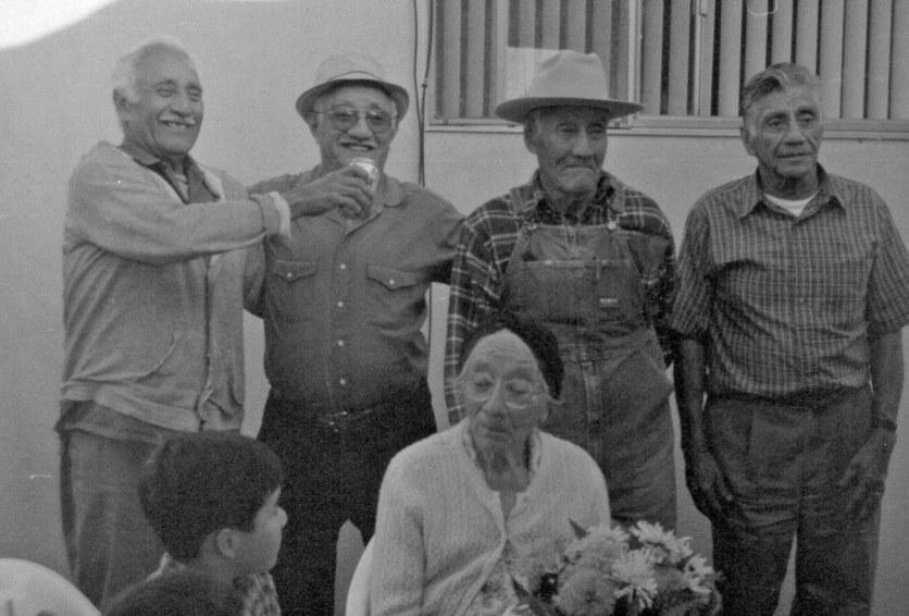 Mom with Gabriel, Fidel, Teofilo, Beto