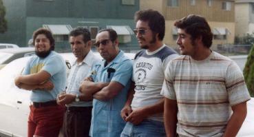 Jarv, cousin Roland Castillo, Bartolo, Chaug, Tori