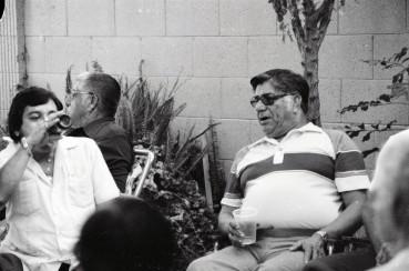 Gabe with cousin Robert Castillo