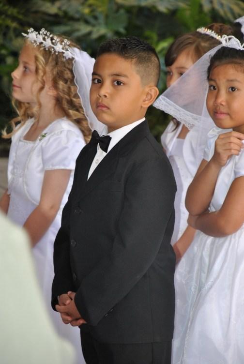 David Domingo, First Communion