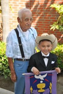 David with grandpa Gabriel