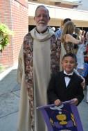 David with priest