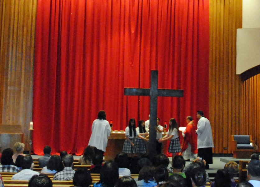 Blessing of the Cross 2016