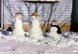Brian's Snowmen
