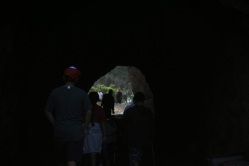 Domingo and Ramirez family with Miranda on Bronson cave hike, Hollywood Hills