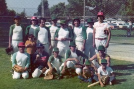 Castillo baseball team, early 70's