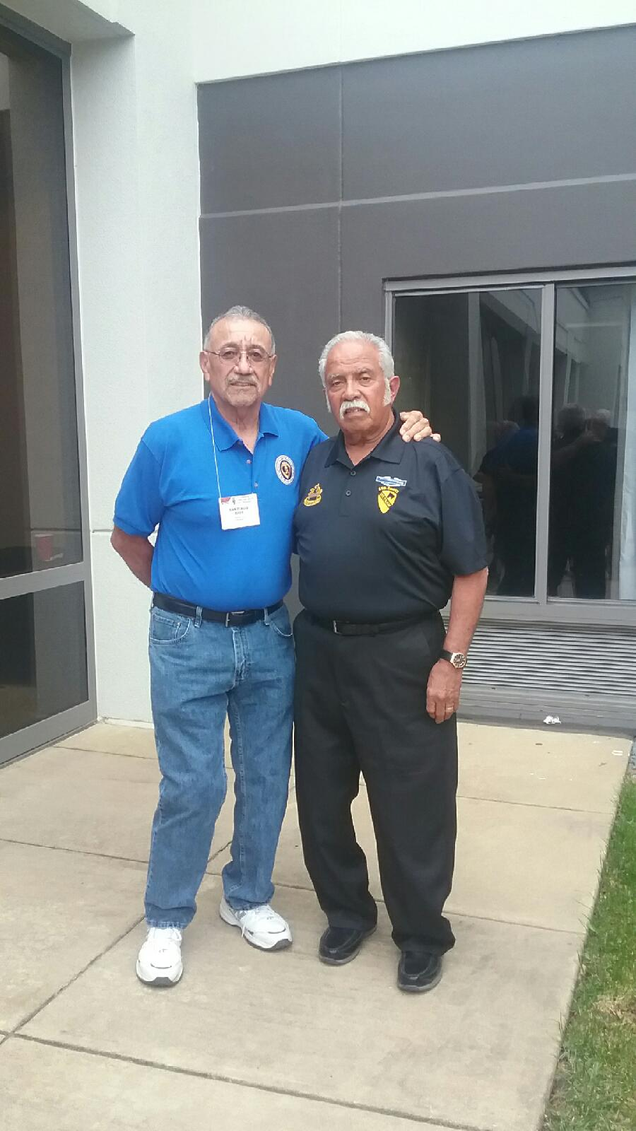 Chaug and old Sarge