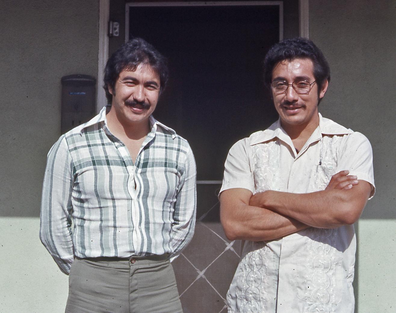 Chava, myself, 1978