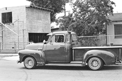 Carols's cousin, Turi, had an older Chevrolet pickup