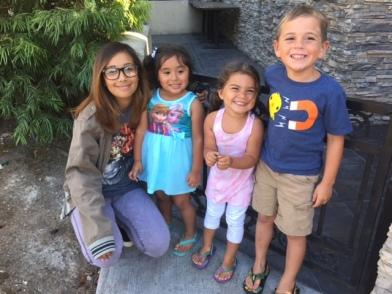 Miranda, Sarah, Sami, Cruz