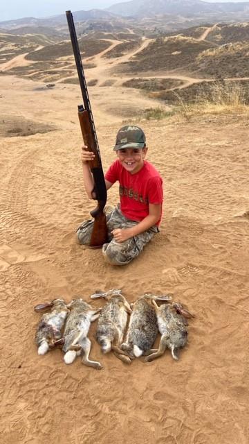 Cruz n Dada rabbit hunt 2020