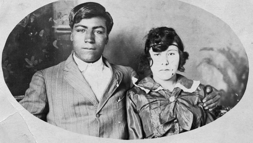 Cruz Garcia, 1919, Dad's compadre, Tejas