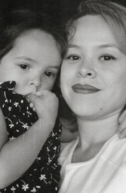 Jessica and her mommy