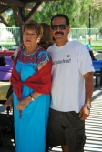 Mrs Rosa and David Rosa