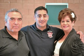 Downey Fire Captain Promotion 2013 Nino Alex & Silvia
