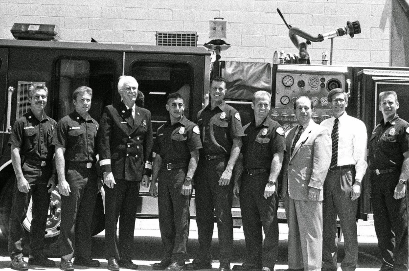 Downey Fire Graduation 2000