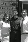 Downey Fire Graduation Monique & Gil