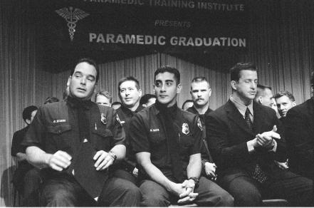 Downey Paramedic Graduation 2001