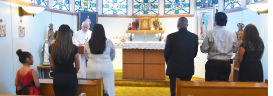 Nene, Edgar marry by church, March 2020